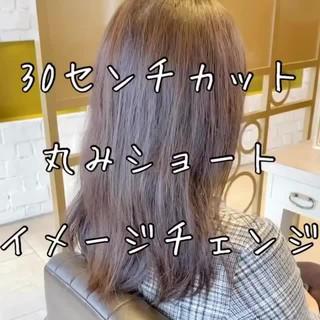 ショートヘア ナチュラル ベリーショート ショートボブ ヘアスタイルや髪型の写真・画像