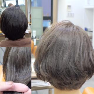 オフィス デート ボブ 女子会 ヘアスタイルや髪型の写真・画像