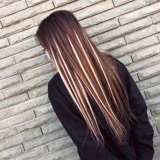 ストリート アンニュイ デート 3Dハイライト ヘアスタイルや髪型の写真・画像