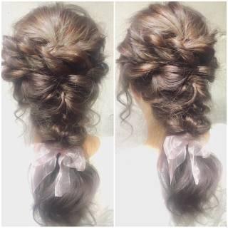 ガーリー 外国人風 大人かわいい フェミニン ヘアスタイルや髪型の写真・画像 ヘアスタイルや髪型の写真・画像
