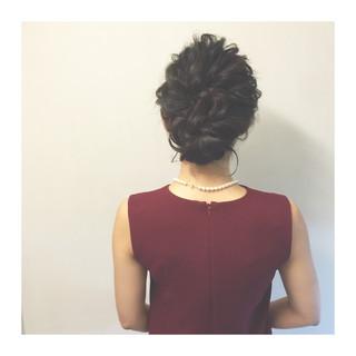 夏 ショート セミロング ヘアアレンジ ヘアスタイルや髪型の写真・画像 ヘアスタイルや髪型の写真・画像