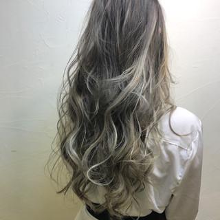 ハイライト エレガント 上品 外国人風 ヘアスタイルや髪型の写真・画像