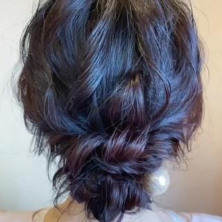 結婚式 パーティヘア エレガント ロング ヘアスタイルや髪型の写真・画像