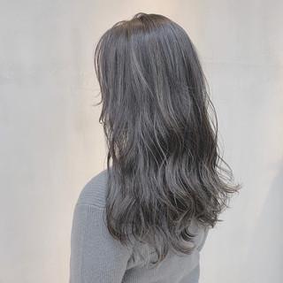 透明感カラー 外国人風カラー ロング 3Dカラー ヘアスタイルや髪型の写真・画像