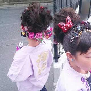 ミディアム 和装 和服 着物 ヘアスタイルや髪型の写真・画像 ヘアスタイルや髪型の写真・画像