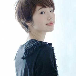 フェミニン モテ髪 ショート 大人かわいい ヘアスタイルや髪型の写真・画像
