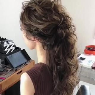 大人女子 ゆるふわ ヘアアレンジ アンニュイ ヘアスタイルや髪型の写真・画像 ヘアスタイルや髪型の写真・画像