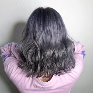 外国人風カラー 透明感 グラデーションカラー オシャレ ヘアスタイルや髪型の写真・画像