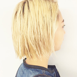 ストリート アッシュ 夏 ヘアアレンジ ヘアスタイルや髪型の写真・画像