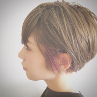 似合わせ 抜け感 前髪あり 大人女子 ヘアスタイルや髪型の写真・画像