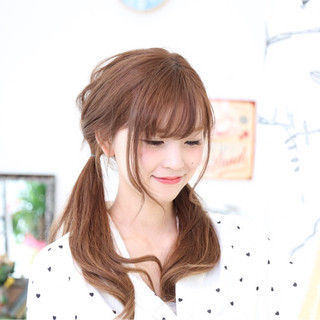 ヘアアレンジ ショート ロング デート ヘアスタイルや髪型の写真・画像