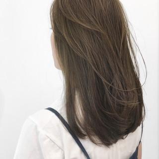 ナチュラル ロング 簡単ヘアアレンジ 透明感 ヘアスタイルや髪型の写真・画像
