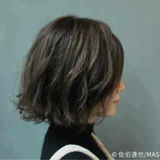 ゆるふわ 外国人風 アッシュ 色気 ヘアスタイルや髪型の写真・画像