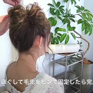 セミロング ヘアアレンジ ディズニー ガーリー ヘアスタイルや髪型の写真・画像 ヘアスタイルや髪型の写真・画像