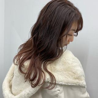 モテ髪 フェミニン 春 ロング ヘアスタイルや髪型の写真・画像