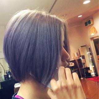 ブリーチ グラデーションカラー モード グレー ヘアスタイルや髪型の写真・画像 ヘアスタイルや髪型の写真・画像