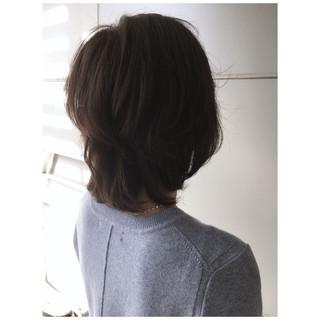 ナチュラル レイヤーボブ 大人かわいい 大人ヘアスタイル ヘアスタイルや髪型の写真・画像