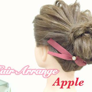 大人かわいい 簡単ヘアアレンジ こなれ感 ショート ヘアスタイルや髪型の写真・画像