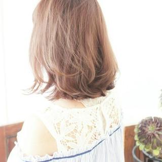 ハイライト こなれ感 ハイトーンカラー ガーリー ヘアスタイルや髪型の写真・画像