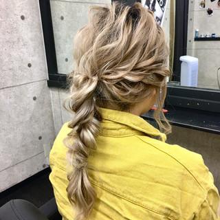 エレガント 成人式 結婚式 ヘアアレンジ ヘアスタイルや髪型の写真・画像
