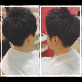 メンズ 大人ヘアスタイル 社会人の味方 黒髪 ヘアスタイルや髪型の写真・画像