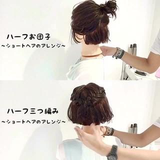 フェミニン 夏 ショートボブ 色気 ヘアスタイルや髪型の写真・画像