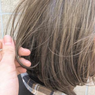 アンニュイほつれヘア 切りっぱなしボブ ボブ ミニボブ ヘアスタイルや髪型の写真・画像