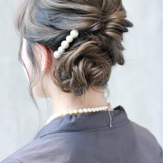 ハイライト ヘアアレンジ 簡単ヘアアレンジ ロング ヘアスタイルや髪型の写真・画像 ヘアスタイルや髪型の写真・画像