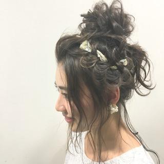 外国人風 ハイライト ヘアアレンジ アッシュ ヘアスタイルや髪型の写真・画像 ヘアスタイルや髪型の写真・画像