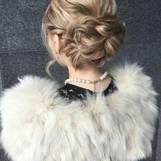 ミディアム ハーフアップ 簡単ヘアアレンジ ゆるふわ ヘアスタイルや髪型の写真・画像 ヘアスタイルや髪型の写真・画像