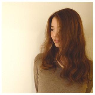 フェミニン ロング ゆるふわ コンサバ ヘアスタイルや髪型の写真・画像
