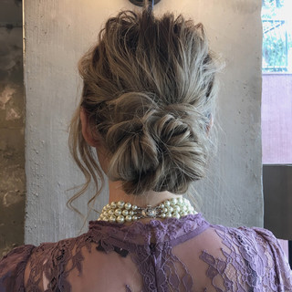 アンニュイ モード 結婚式 ロング ヘアスタイルや髪型の写真・画像