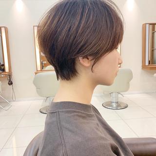 ショートヘア  大人可愛い 大人ショート ヘアスタイルや髪型の写真・画像