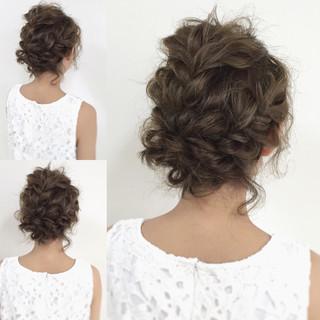 大人かわいい ヘアアレンジ 外国人風 ミディアム ヘアスタイルや髪型の写真・画像