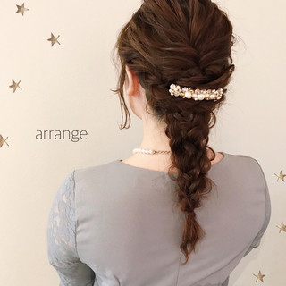 ゆるナチュラル ヘアアレンジ ロング ナチュラル ヘアスタイルや髪型の写真・画像