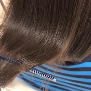 髪質改善 髪質改善カラー 髪質改善トリートメント 艶髪 ヘアスタイルや髪型の写真・画像