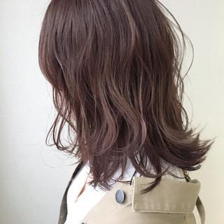 色気 ベージュ アウトドア ボブ ヘアスタイルや髪型の写真・画像