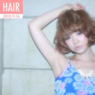 ゆるふわ フェミニン 外国人風 大人かわいい ヘアスタイルや髪型の写真・画像