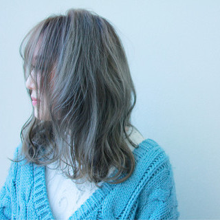 謝恩会 ミディアム アンニュイ ガーリー ヘアスタイルや髪型の写真・画像