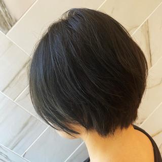ショート アディクシーカラー ショートボブ 外国人風カラー ヘアスタイルや髪型の写真・画像