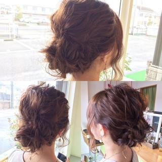 大人かわいい 結婚式 セミロング ショート ヘアスタイルや髪型の写真・画像 ヘアスタイルや髪型の写真・画像