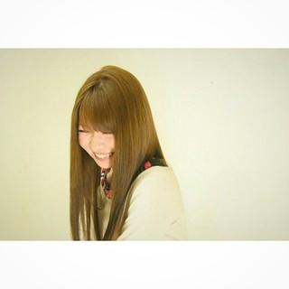 大人かわいい セミロング かわいい ロング ヘアスタイルや髪型の写真・画像