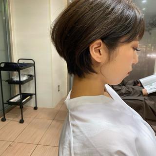 ベリーショート ショートヘア ショート ミニボブ ヘアスタイルや髪型の写真・画像