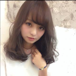 秋 モテ髪 コンサバ ゆるふわ ヘアスタイルや髪型の写真・画像