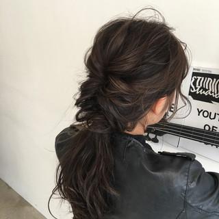 ミディアム ショート 外国人風 黒髪 ヘアスタイルや髪型の写真・画像