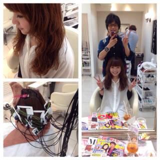 パーマ 外国人風 セミロング 大人かわいい ヘアスタイルや髪型の写真・画像
