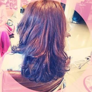 大人女子 愛され セミロング 大人かわいい ヘアスタイルや髪型の写真・画像