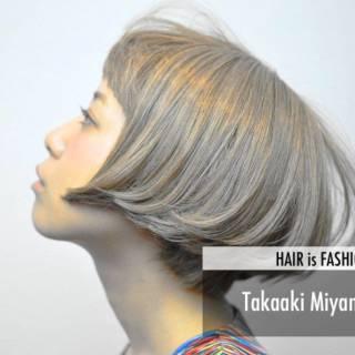 ストリート パンク 逆三角形 卵型 ヘアスタイルや髪型の写真・画像