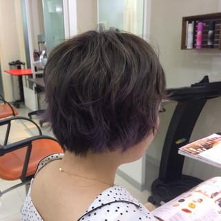マッシュ ダブルカラー グラデーションカラー ブリーチ ヘアスタイルや髪型の写真・画像 ヘアスタイルや髪型の写真・画像