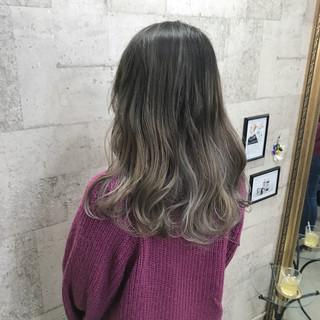 外国人風カラー ロング 外国人風 ストリート ヘアスタイルや髪型の写真・画像